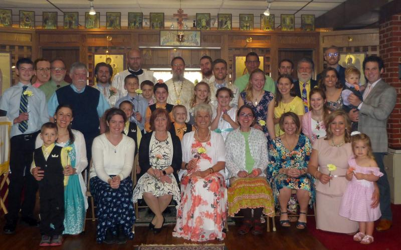 "After Pascha ""Agape"" Vespers: April 28, 2019"